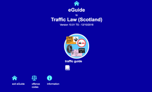 Guide to Traffic Law (Scotland)